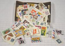 Box of USED Stamps USA & Around The World INTERNATIONAL Postage CRAFTS Vtg 1979