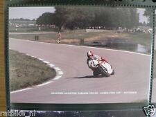 S0727-PHOTO- GIACOMO AGOSTINI YAMAHA 750 CC ASSEN F750 1977 NO 2 AGV MOTO GP
