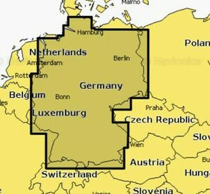 Navionics Plus Small Seekarte Deutschland Binnengewässer