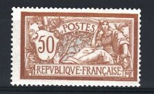 """FRANCE STAMP TIMBRE N° 120 """" TYPE MERSON 50c  BRUN ET GRIS """" NEUF xx TB  R476"""