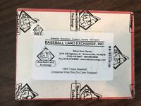 1985 Topps Wax Box, 36ct Packs, Clemens Puckett McGwire ROOKIE RC BBCE Auth🔥📈