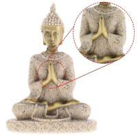 Buddha Deko Figur Feng Shui Skulptur Statue Buddhismus Glücksbringer
