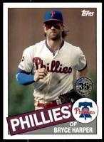 2020 Update 1985 Baseball #85TB-33 Bryce Harper - Philadelphia Phillies