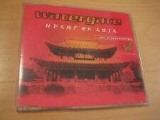 Watergate CD Single Heart of Asia incl. DJ Quicksilver Mix - 4 Titel - 1999 Sony