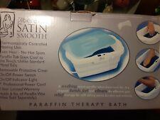 satin smooth paraffin spa bath