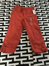 #12 Baby Gap Boys Sz 5 Pants Red NWT Boys
