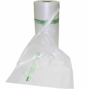 Produce Bags / Freezer Bag 100% BIODEGRADABLE and RECYCLABLE | Roll of 500, 1500