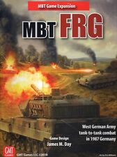 GMT MBT, FRG Expansion West German Army Tank-to-tank Combat, Mint in shrinkwrap