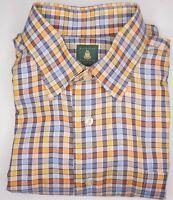 Robert Talbott Classic - Multicolor Check Men's Long Sleeve - sz XL - 16/35