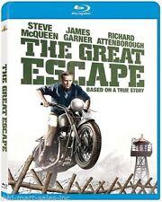 The Great Escape Blu-ray. Steve McQueen, James Garner, James Coburn. 172 Mins.