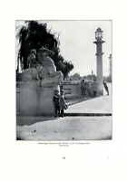 Brücke Friedbergstraße Augsburg Fotoabbildung von 1922 Kinder Matrosenanzug