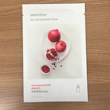 1 SHEET INNISFREE MY REAL SQUEEZE MASK PACK - POMEGRANATE PLUMP & RADIANT