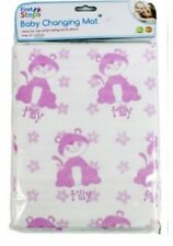 First Steps Baby Changing Mat Home Travel Soft Pink Wipe Clean 67 X 47cm 770544