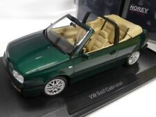 NOREV COLLECTORS 1:18 VOLKSWAGEN GOLF CABRIOLET  1995 GREEN METALLIC ART. 188431