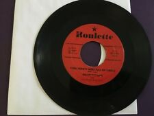Jimmie Rodgers - Honeycomb / Their Hearts Were Full Of Spring  45 ROULETTE  G+