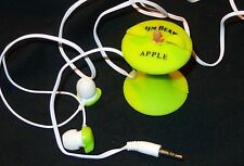 Jim Beam Apple Ear Buds - headphones - Shaped Like an Apple - NEW