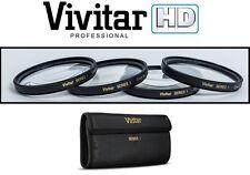 4-Pcs Hi Def +1/+2/+4/+10 Close-Up Macro Lens Set For Nikon 1 AW1 J5