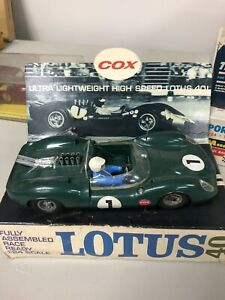 COX RTR Monocoque Design Lotus #13020  FOR 1/24 SLOT CARS Fully Assembled