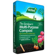 Westland 70L Multi Purpose Compost Garden Plant Hanging Basket Planter Soil