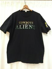 Cowboys & Aliens movie T-shirt from San Diego Comic Con 2010 mens XL EXCELLENT