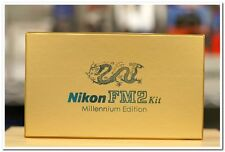 Nikon FM2 Year 2000 Film Camera with 50/1.4 Lens Dragon Millennium Edition)
