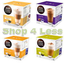 Dolce Gusto Pods - 4 Flavours! Latte - Cappuccino - Mocha - Vanilla Latte