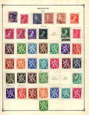 Kenr2: Belgium 1941-1965 Collection from 7 Vol Scott Intern Albums