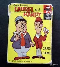 Larry Harmon's Laurel & Hardy Numbers Card Game 1972 Edu-Cards in Box