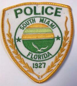 South Beach Miami Florida Cloth Patch