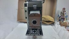 Vintage Polaroid Land Camera with Bellows in Leather Case Untested Parts only