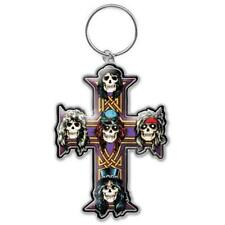 OFFICIAL LICENSED - GUNS N ROSES - APPETITE KEYCHAIN METAL KEYRING SLASH