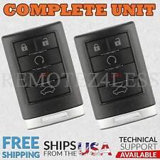 2 For 2007 2008 2009 Cadillac SRX Keyless Entry Remote Car Key Fob