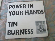 Tim Burness, Power In Your Hands, private press on Expanding Consciousness