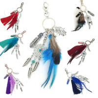 Dream Catcher Feather Keyring Key Chain Ring Keychain Bag Pendant Charm Seraphic