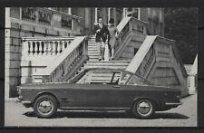 Fiat 2300 S Coupe Vintage Dutch Trading Card Auto Album No.34