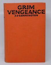 GRIM VENGEANCE Connington Grosset Dunlap hardback 1929 (Vintage Crime Mystery)