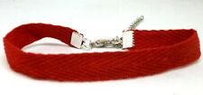"""Pulsera Roja """" Amuleto de Protección"""" cordón plano algodón - Ajustable"""