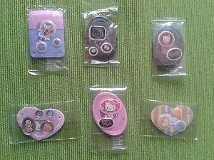 Stock Stickers Adesivi 3D Hello Kitty Originali Decorazioni Cellulari Collezione