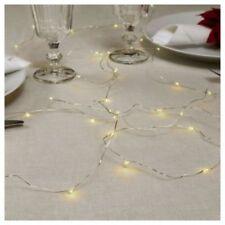Luci di Natale catena trasparente da 20-50 luci