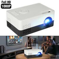 1080P HD LED Portable Mini Projector Home Theater Cinema  HDMI/AV USB