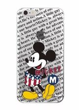 Disney Mickey Mouse Phone Case For iPhone 7 Or 8. Clear Gel SilicoNe. Xmas