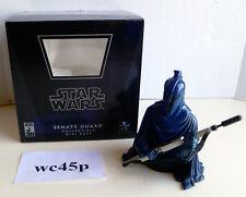 Gentle Giant Star Wars BLUE SENATE GUARD Mini Bust 2007