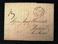 Vorphilatelie Altdeutschland - Brief Faltbrief von 1846     Nr.8