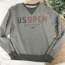 Mens Large Forty Seven Brand US Open Tennis New York City Sweatshirt Pullover
