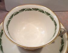 8 Franciscan Pottery Fine China Arcadia Green Rimmed Fruit Dessert Bowls