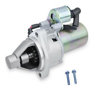 New Electric Starter Motor W/ Solenoid Fits Honda GX340 GX390 W/ Mounting Bolts