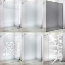Duschabtrennung Walk In Duschwand NANO 10mm Glas Echtglas EX101  Breite wählbar