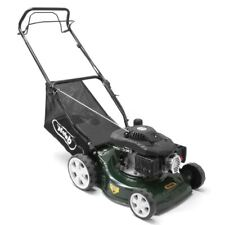 "16"" 40cm, 7 Cutting Heights, 50L Capacity, Webb Self Propelled Petrol Lawnmower"
