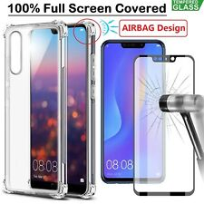 Huawei P30 Pro Mate 20 Pro Lite P20 Case Cover + Tempered Glass Screen Protector