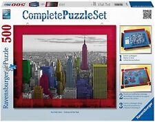 Puzzle Classique  Couleurs De New York Complete puzzle set  500 Pièces